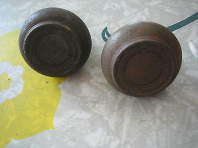 Vintage Antique Metal Door Knob Lot of 2