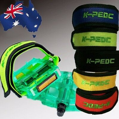1 Pair Pedals Straps Sports Bicycle Cyclling Bike Adjustable Beem Foot OBSTA26