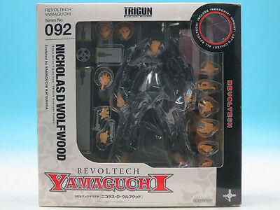 [FROM JAPAN]REVOLTECH YAMAGUCHI 09 2 Trigun Nicolas D. Wolfwood Action Figur...