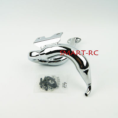 New Dragon fly Exhaust Pipe for HPI Rovan King Motor Baja 5B SS 5T Smart