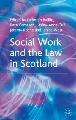 Social Work and the Law in Scotland (Open University) Paperback Book The Cheap