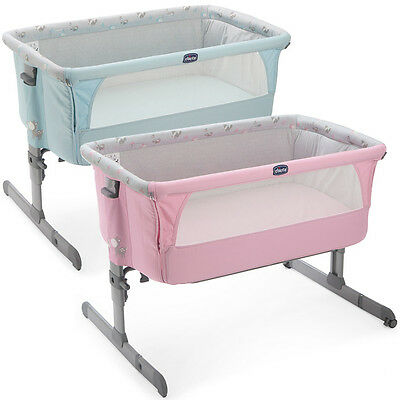 ORIGINAL Chicco Side Sleeping Crib Next2Me Baby Crib Next 2 Me Co-Sleep Sleeping