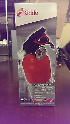 BRAND NEW! Kidde Fire Extinguisher w/ Molded Strap Bracket 21005944 - FA5B