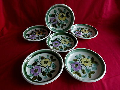 """6 assiettes creuse boch service """"in the mood""""(1)"""