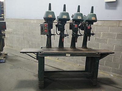 Used CANEDY - OTTO Heavy Duty Multiple Spindle Drill Press
