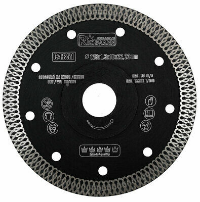Corona turbo super thin angle grinder diamond disc blade tile sizes 115 - 230
