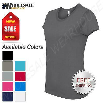 Anvil Women's Basic Midweight Mid-Scoop S-2XL T-Shirt M-780L