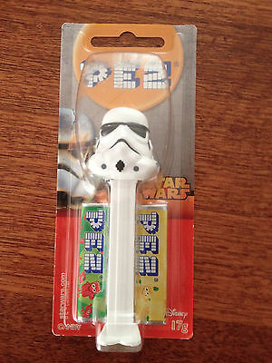 Star Wars Stormtrooper Pez Dispenser & Candy New in Box