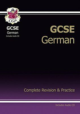 GCSE German Complete Revision & Practice with ..., CGP Books Mixed media product