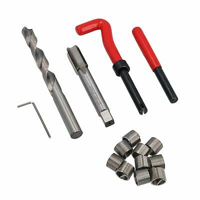 M12 x 1.25mm Thread Tap Repair Cutter kit helicoil 15pc set damaged thread AN061