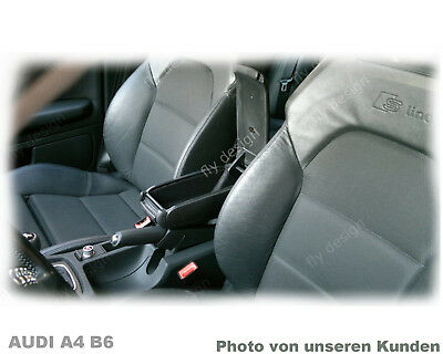 Armlehne Armrest AUDI A3 Mittelarmlehne 8L 1996 - 03 Accoudoir BLACK LEATHER