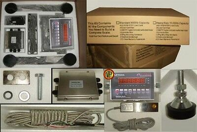 10,000 LBS Optima Floor Scale Kit  everything except platform FREE freight