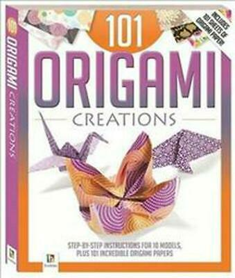 101 Origami Creations by Hardcover Book