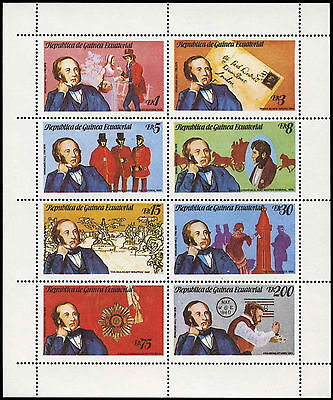 Equatorial Guinea 1979 Sir Rowland Hill MNH Sheet #C28992