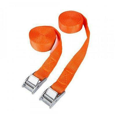 Buckled Straps 2 Pack 2.5m x 25mm Cam Buckle Tie Down Lashing