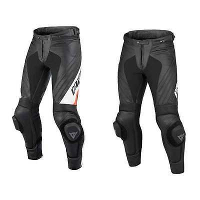 Dainese Delta Pro Evo C2 Leather Motorcycle Sports Trousers   All Sizes