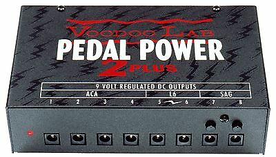 Voodoo Labs Pedal Power 2 PLUS Guitar Pedal Power Supply