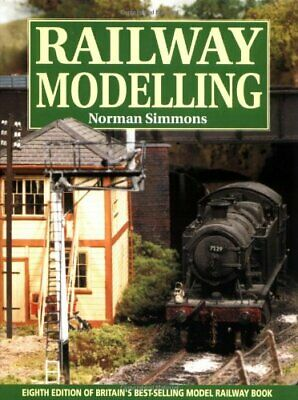 Railway Modelling by Simmons, Norman Hardback Book The Cheap Fast Free Post