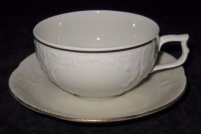 Rosenthal GOLD BAND, CLASSIC, Sanssouci, Ivory, Cup & Saucer Set