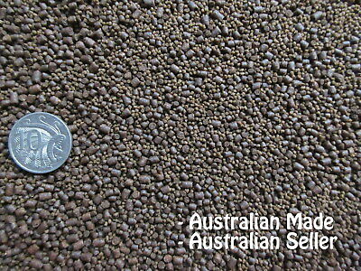 Premium Bulk 3kg 1&2&3mm SINKING Cichlid, Native, Tropical & Goldfish Fish Food