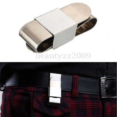 Professional Magnetic Stainless Steel Chalk Holder Clip for Billard Pool Cue