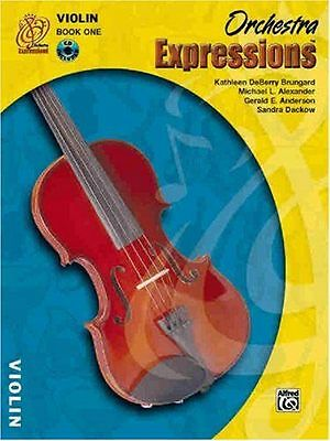 Orchestra Expressions: Violin Book and CD 1