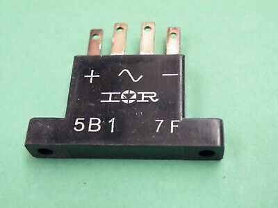 IOR 5B1 Bridge Rectifier 5A 100v Used in Quad Marantz Kenwood & others # EC14