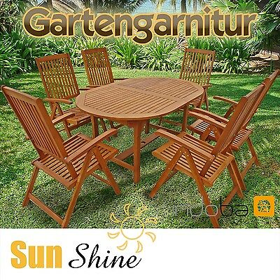 sitzgruppe gartenset holz gartenm bel tisch st hlen. Black Bedroom Furniture Sets. Home Design Ideas
