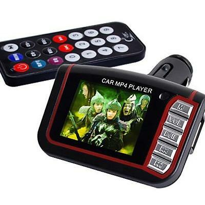 Car MP3 MP4 Music Player Wireless FM Transmitter LCD USB SD Slot Remote Control