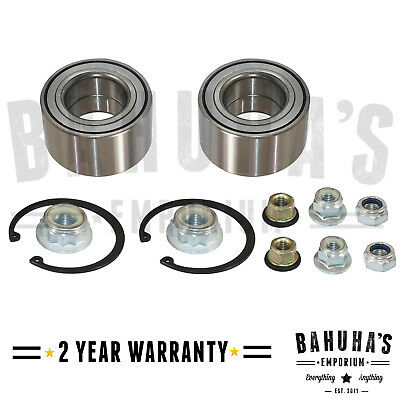 Audi A3,s3,tt / Vw Bora,new Beetle,golf Mk4 X2 Front Wheel Bearing Kit 97 On New