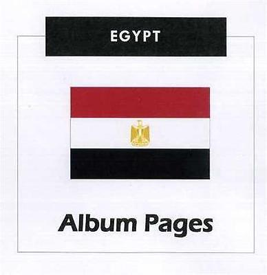 Egypt - CD-Rom Stamp Album 1866-2014 Color Illustrated Album Pages