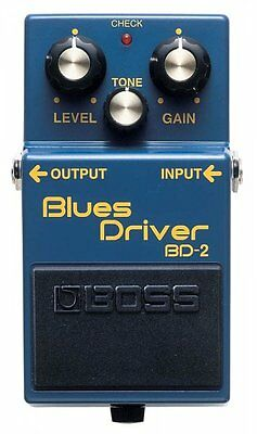 Boss BD2 Blues Driver Electric Guitar Effects Pedal