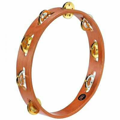 Meinl TA1M-SNT Wood Single Row Tambourine