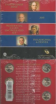 United States: Presidential 1 Dollar Coin uncirculated Set 2015