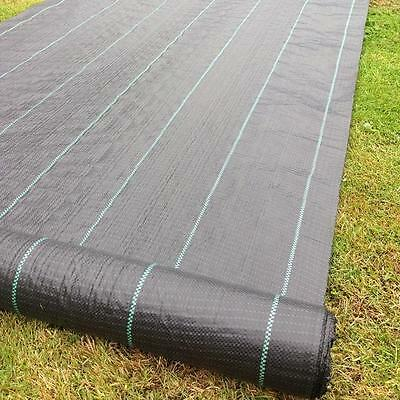 Weed Control Ground Cover Landscape Fabric Heavy Duty Membrane Pathways Drives