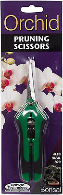 Orchid / Bonsai Pruning Scissors - Straight Blade Snipper Secateurs 165mm