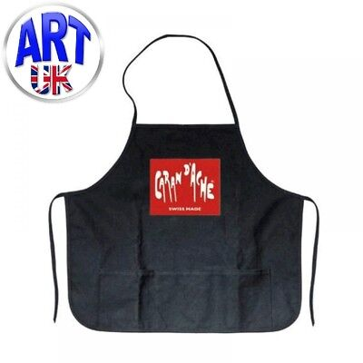Caran d'Ache Artists' RED APRON drawing painting protective craft smock clothing