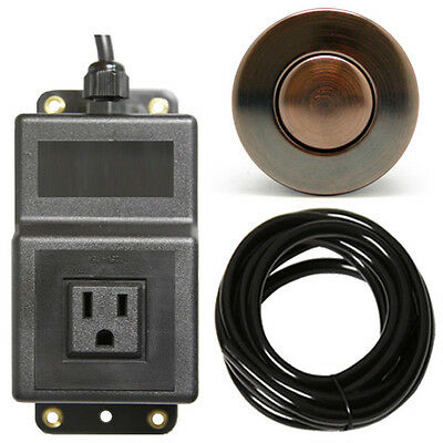 Geyser Single Outlet Sink Garbage Disposal Air Activated Switch