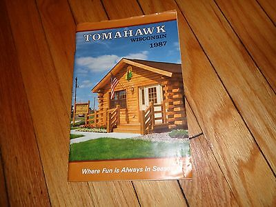 1987 Guide to Tomahawk Wisconsin