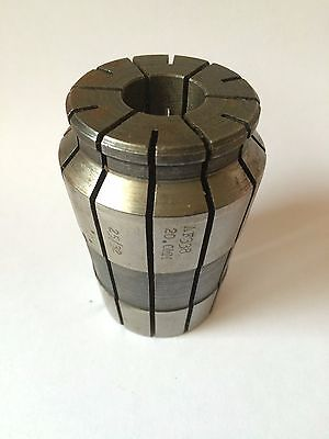 "1 x Acura Flex Collet AF 338 25/32"" 20mm New! Cnc Chucks"