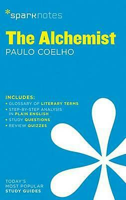 The Alchemist Sparknotes by Paulo Coelho (English) Paperback Book Free Shipping!
