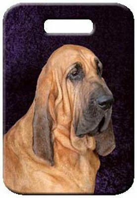 Set of 2 Bloodhound Luggage Tags