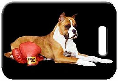 Set of 2 Boxer Luggage Tags