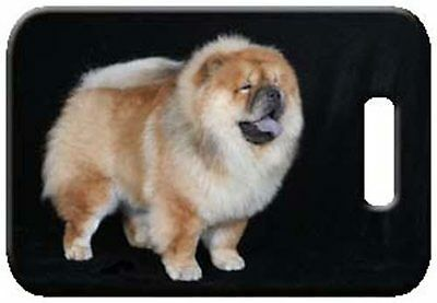 Set of 2 Chow Chow Luggage Tags