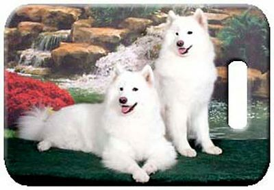 Set of 2 Samoyed Luggage Tags