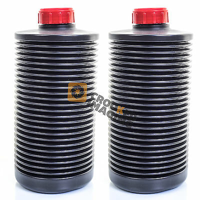2 x AP 2 Litre Collapsible Bottle Photographic Film Developing Chemicals Storage