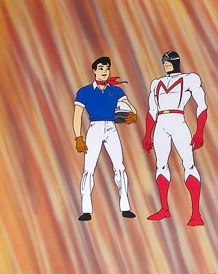 SPEED RACER & DRIVER X Limited Edition Sericel Cel Animation Art