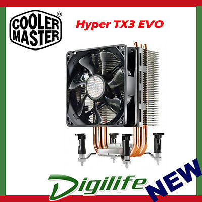 Cooler Master Hyper TX3 EVO Cooler Multi Socket CPU Cooling Fan coolermaster