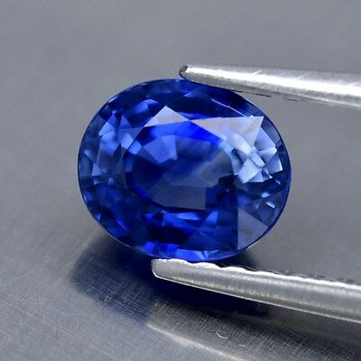 1.14ct 6x5mm Oval Natural Normal Heated Royal Blue Sapphire Ceylon, Stunning!