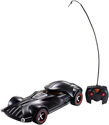 Hot Wheels Disney Star Wars 1:18 Scale Darth Vader Remote Control Vehicle NEW